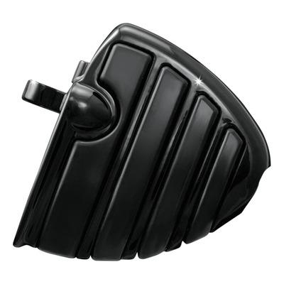 Repose pieds plateau mini ISO pilote/passager type mâle Kuryakyn noir