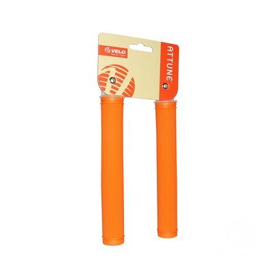 Revêtements de poignées vélo City-Fixie Extralong orange