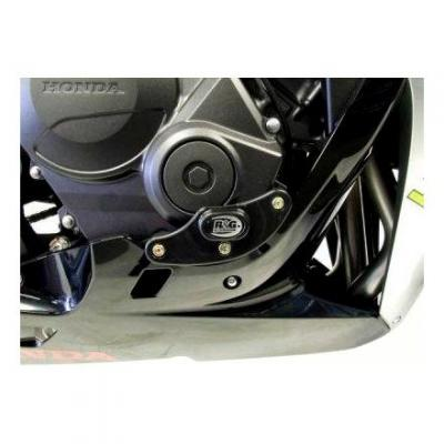 Slider moteur droit R&G Racing noir Honda CBR 600 RR 07-08