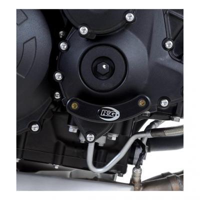Slider moteur droit R&G Racing noir Triumph Speed Triple 1050 05-15
