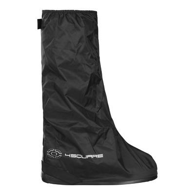 Sur-bottes de pluie 4Square Spate noir (avec semelle)