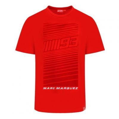 Tee-shirt Marc Marquez Flock MM93 rouge
