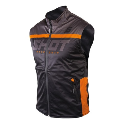Veste sans manches Shot Bodywarmer Lite 2.0 noir/orange