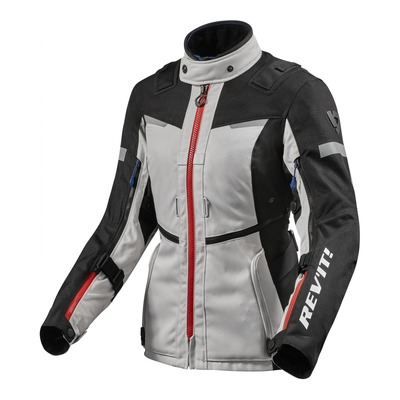 Veste textile femme Rev'it Sand 4 H2O ladies argent/noir