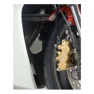 Grille de protection de collecteur R&G Racing noire Honda CBR 600 F 11-13