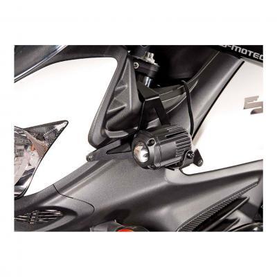 Support pour feux additionnels SW-MOTECH noir Suzuki DL650 V-Strom 11- / XT 15-
