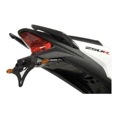 Support de plaque d'immatriculation R&G Racing noir Honda CBR 250 R 11-13