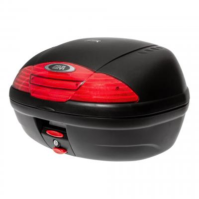 Top case Givi E450 Simply II monolock noir sans platine et sans kit de fixation