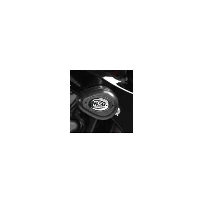 Tampons de protection R&G Racing Aero noir Honda CBR 1000 RR 06-07