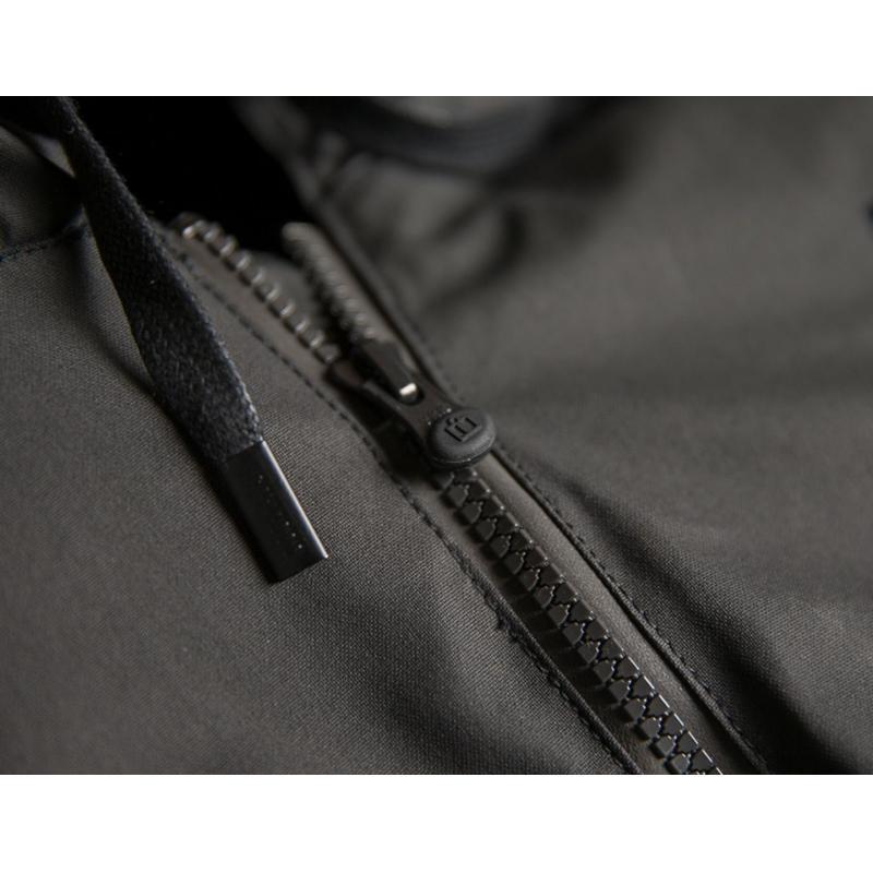 Blouson cuir/textile Icon 1000 Varial noir - 2