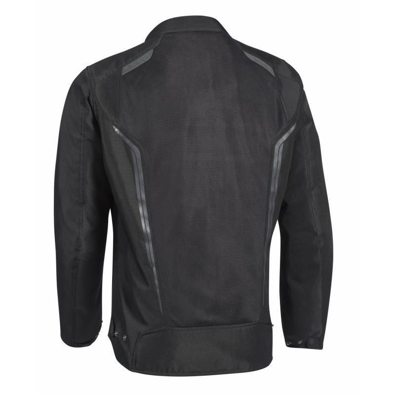 Blouson textile Ixon Cool Air noir - 1