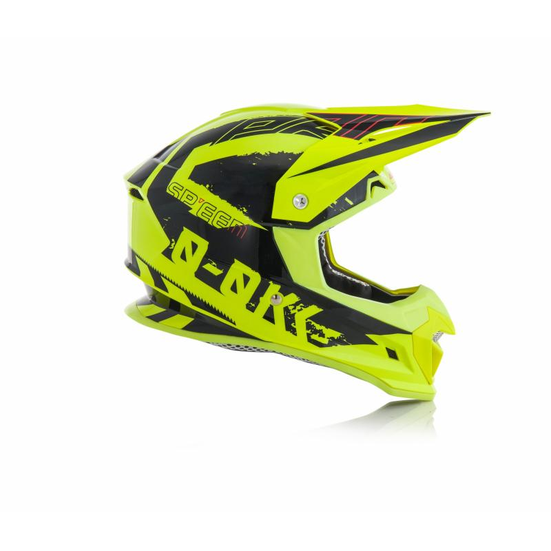 Casque cross Acerbis Profile 4 jaune/noir - 2