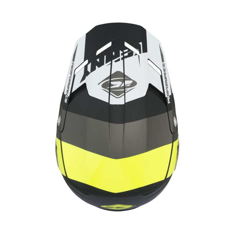 Casque cross Kenny Performance gris - 2