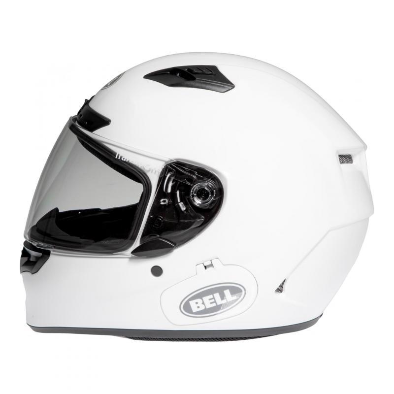 Casque intégral Bell Qualifier DLX Solid blanc - 1