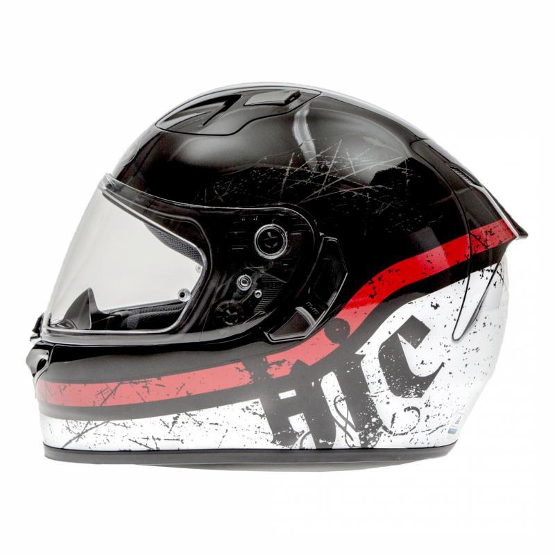 Casque intégral HJC FG-ST Labi noir/blanc/rouge - 1