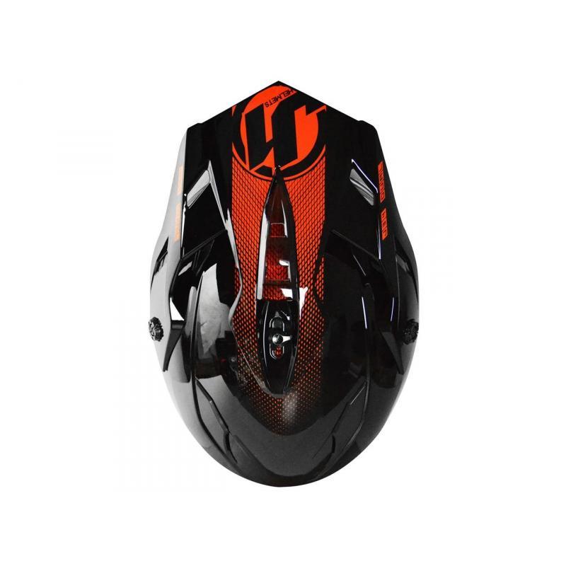 Casque intégral Just1 J34 Adventure Shape noir/rouge - 3