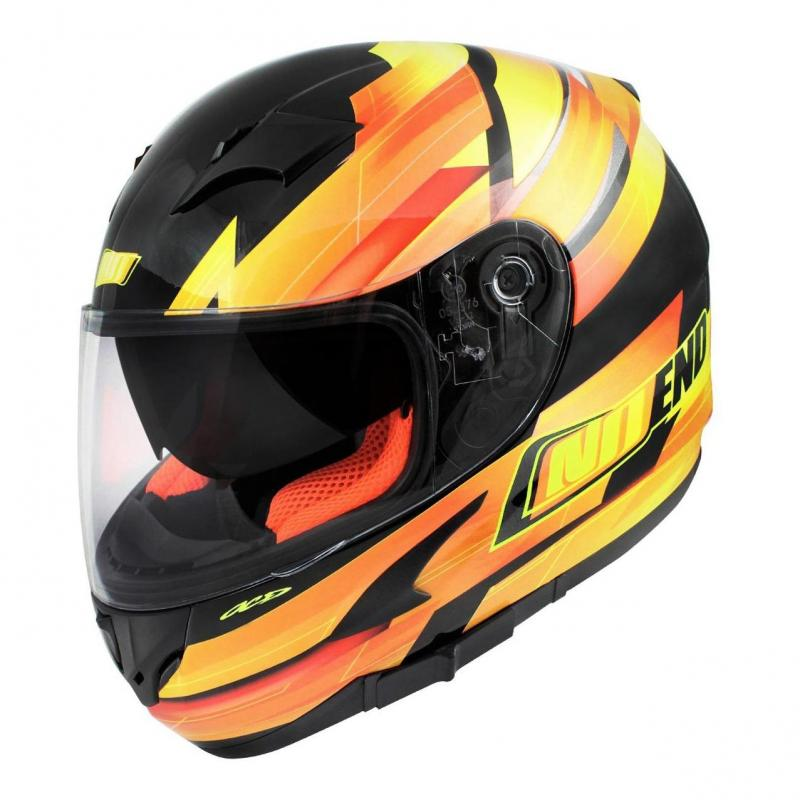 Casque intégral Noend Race by OCD jaune