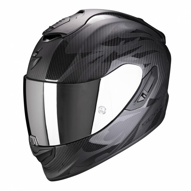 Casque intégral Scorpion EXO-1400 Air Carbon Obscura noir mat/noir brillant