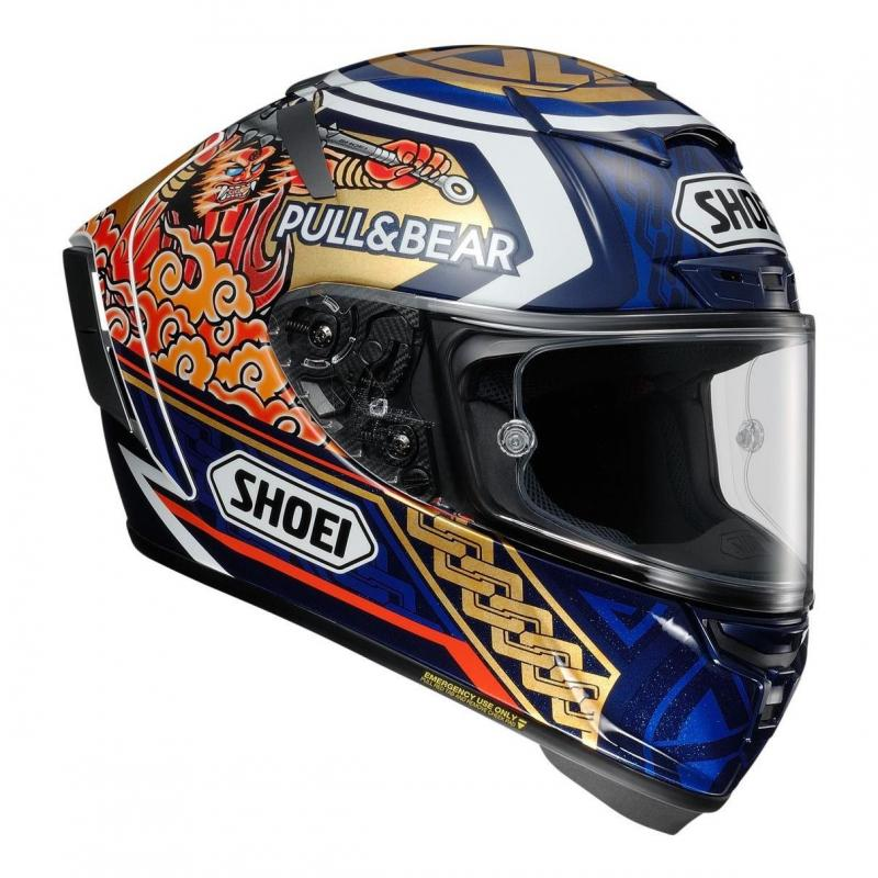 Casque intégral Shoei X-Spirit III Motegi 3 TC-2 multicolore - 2