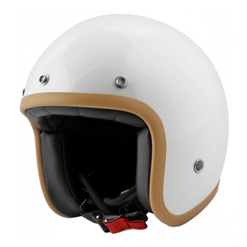 Casque jet Noend Tribute blanc