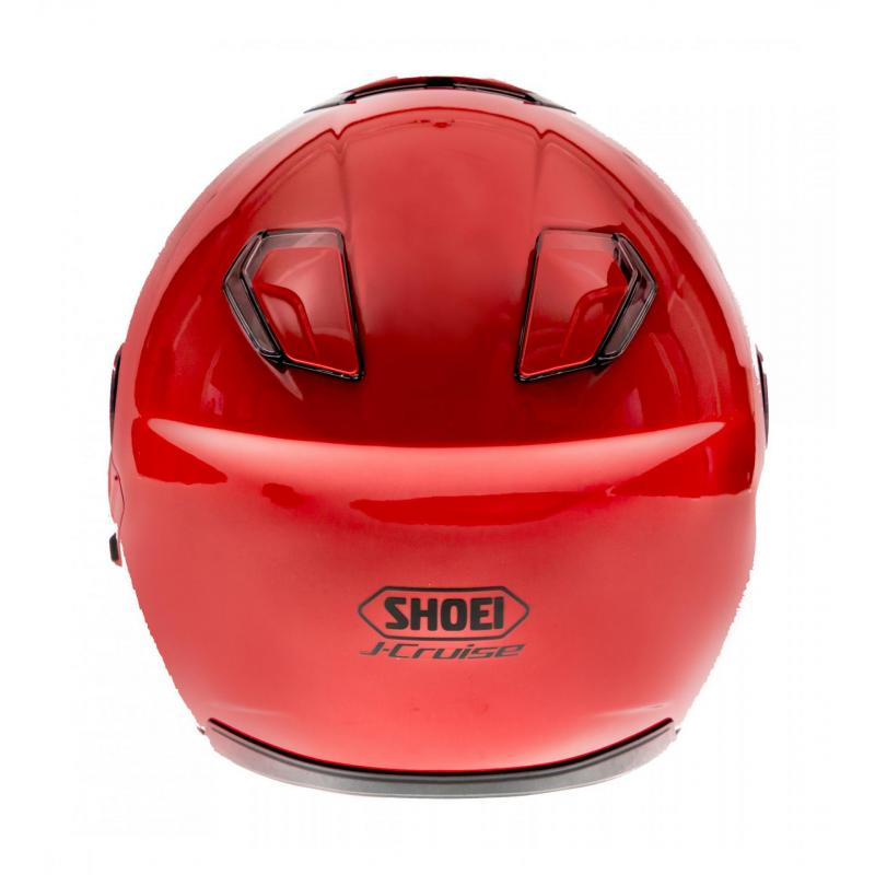 Casque jet Shoei J-Cruise rouge brillant - 4