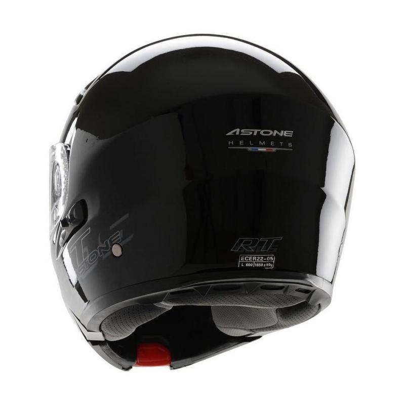 Casque Modulable Astone Rt600s Mono Exclusive noir gloss - 2