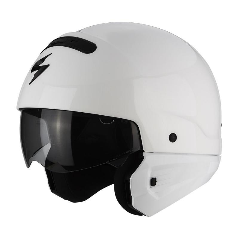 Casque Scorpion EXO-COMBAT blanc - 1