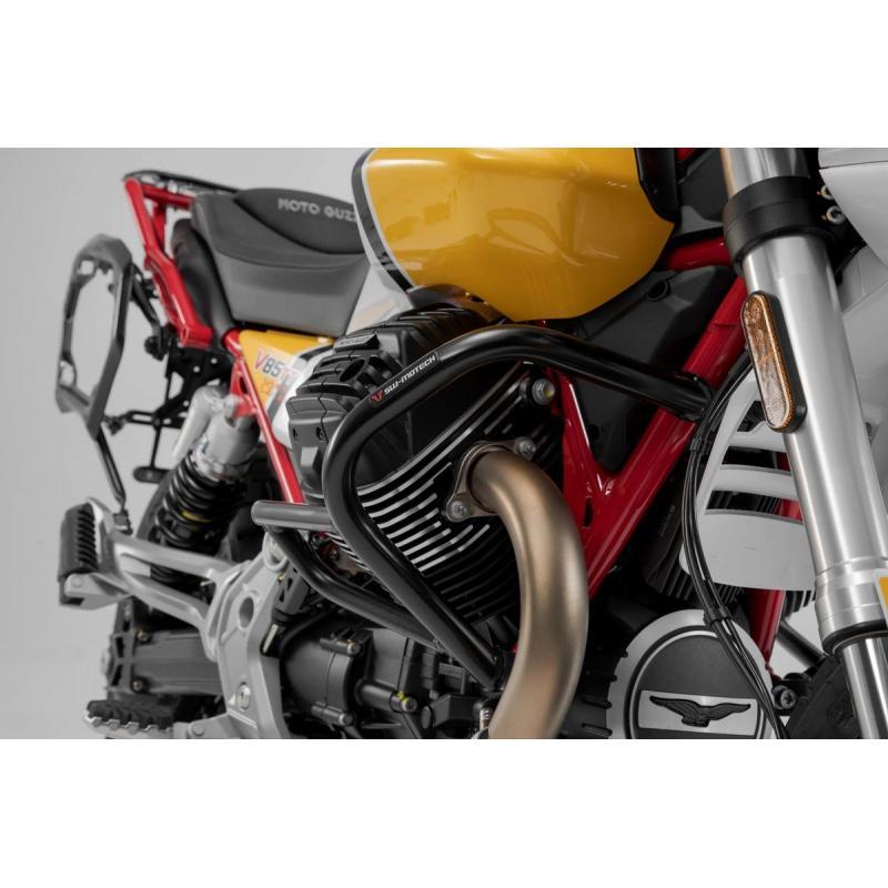 Crashbar noir SW-Motech Moto Guzzi V85 TT 2019 - 2