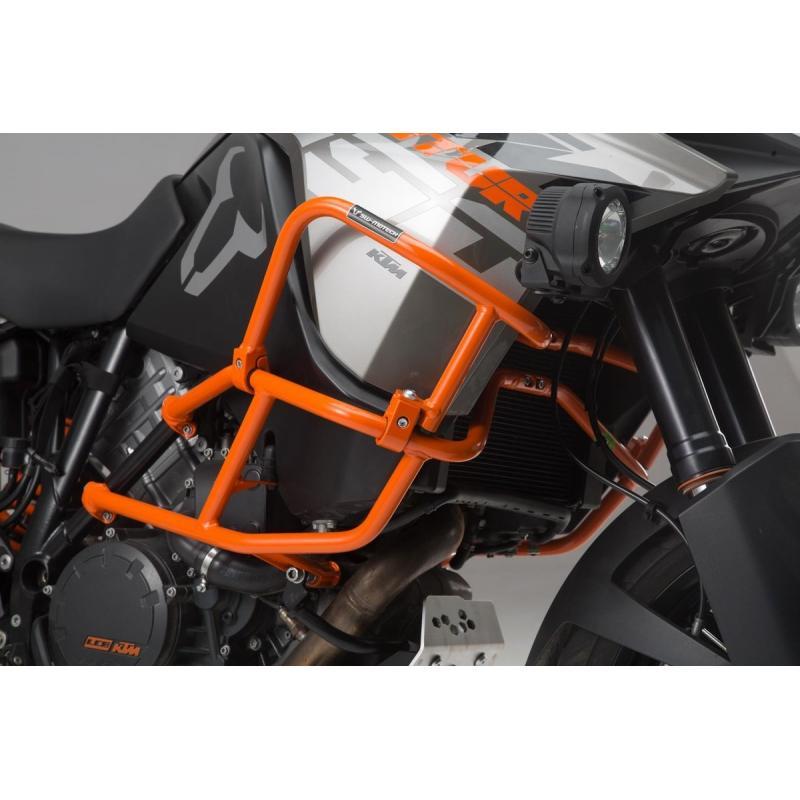 Crashbar supérieur orange SW-Motech KTM 1290 Adventure 17-19 - 1