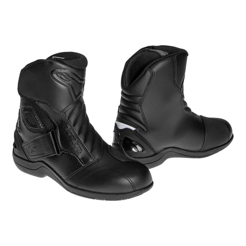 Demi-bottes Alpinestars GUNNER WATERPROOF noir