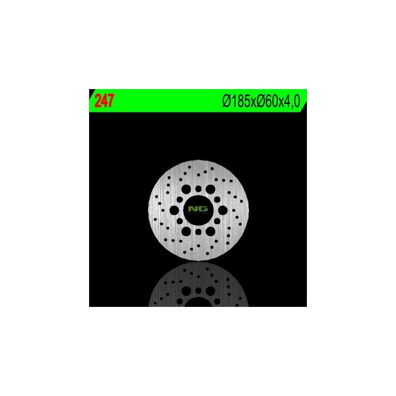 Disque de frein NG Brake Disc D.185 fixe avant gauche - 247