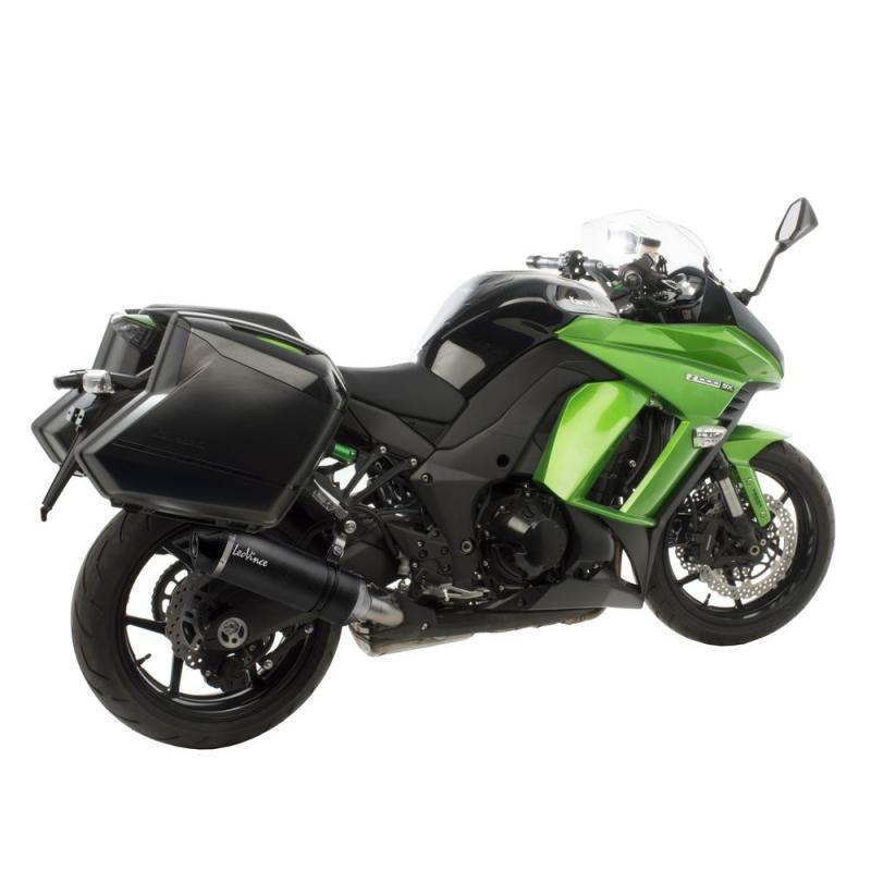 Double silencieux Leovince LV One Evo full carbone pour Kawasaki Z 1000 SX 14-16