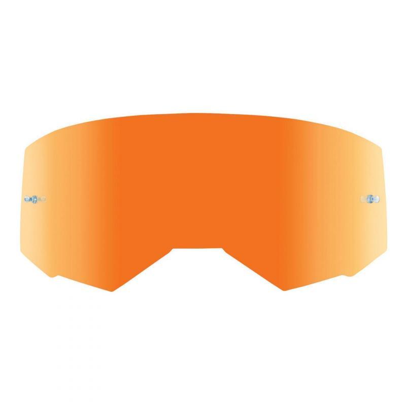 Écran Fly Racing pour masque Zone, Zone Pro et Focus miroir orange/fumé
