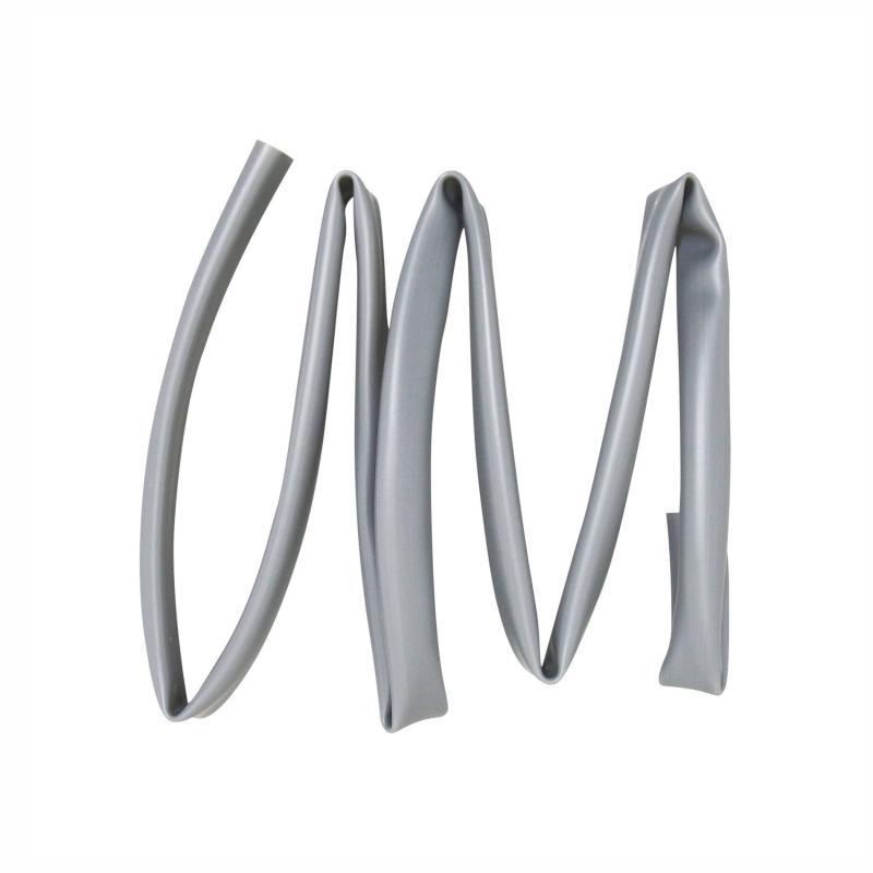 Gaine de faisceau électrique 10,5x12mm x 1m gris