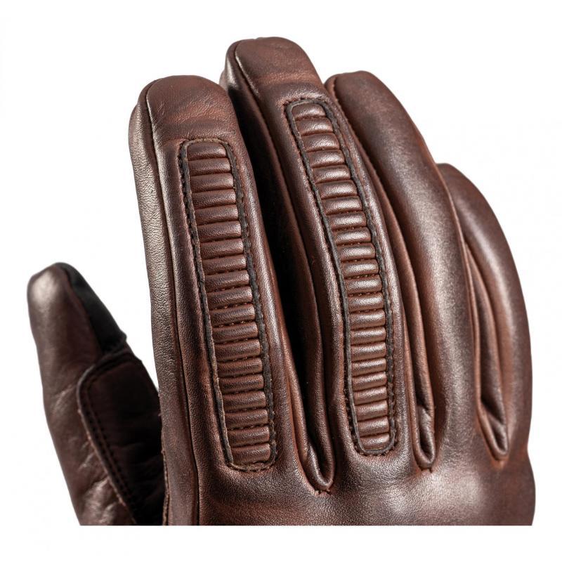 Gants cuir Ixon Pro Custom L marron - 3