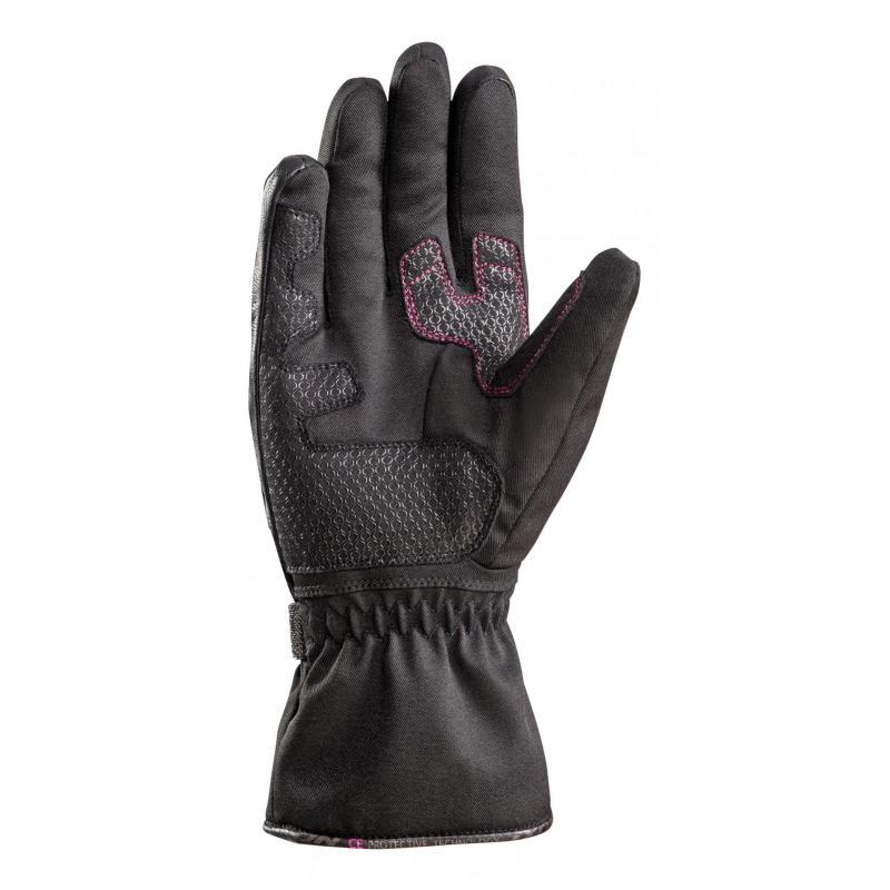 Gants textile femme Ixon Pro Indy Lady noir/fushia - 1