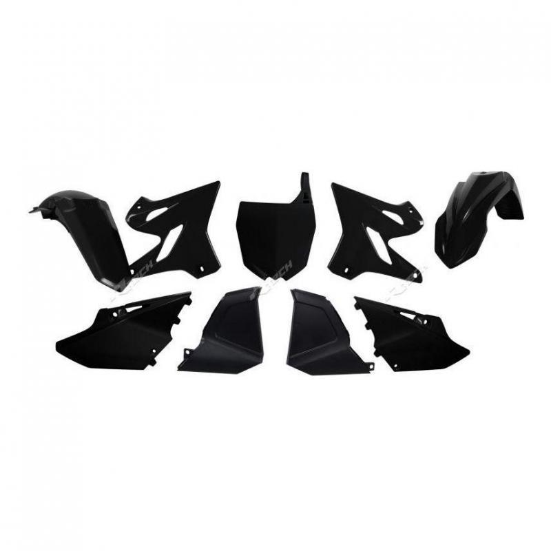 Kit plastique RTech noir replica 2015 pour Yamaha YZ 125 02-14