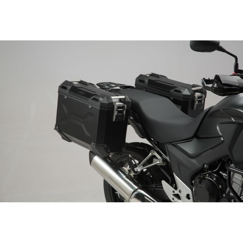 Kit valises SW-Motech Trax ION 37/37L grise Honda CB 500 X 13-18 - 1