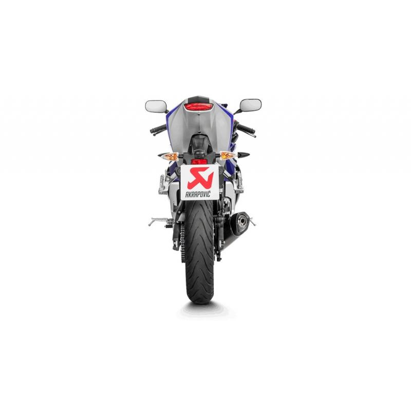 Ligne complète Akrapovic Racing line S-Y125R4-HRT titane Yamaha YZF-R 125 14-17 Euro 4 - 2