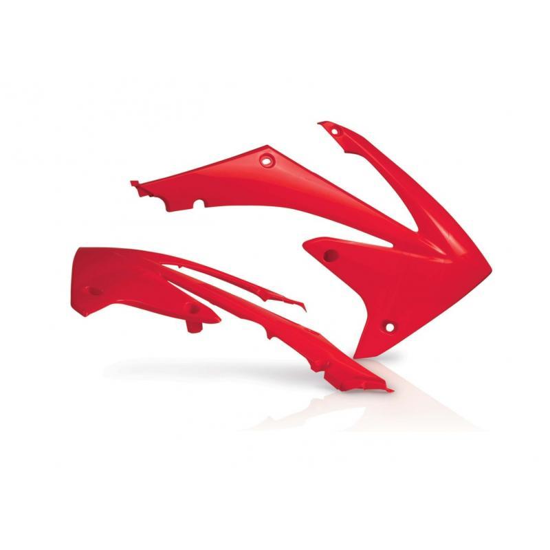 Ouïes de radiateur Acerbis Honda CRF 450R 09-12 rouge (paire)