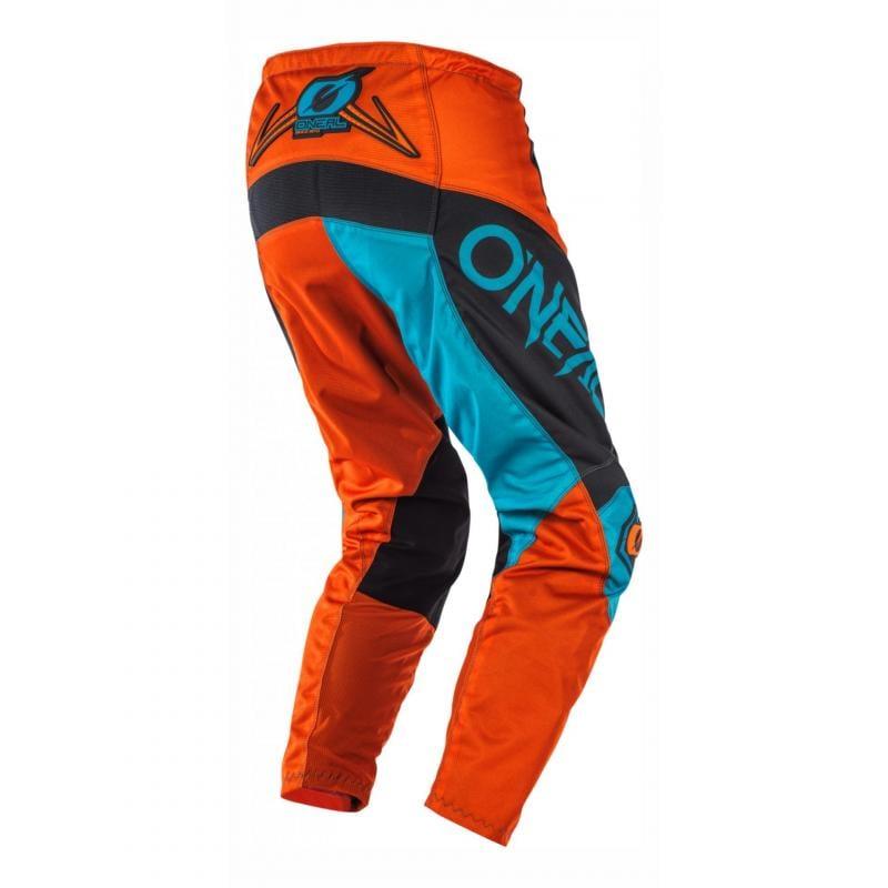 Pantalon cross O'Neal Element Factor gris/orange/bleu - 1