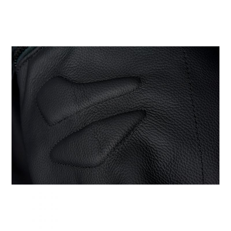 Pantalon cuir Furygan Raptor Evo noir/rouge - 5