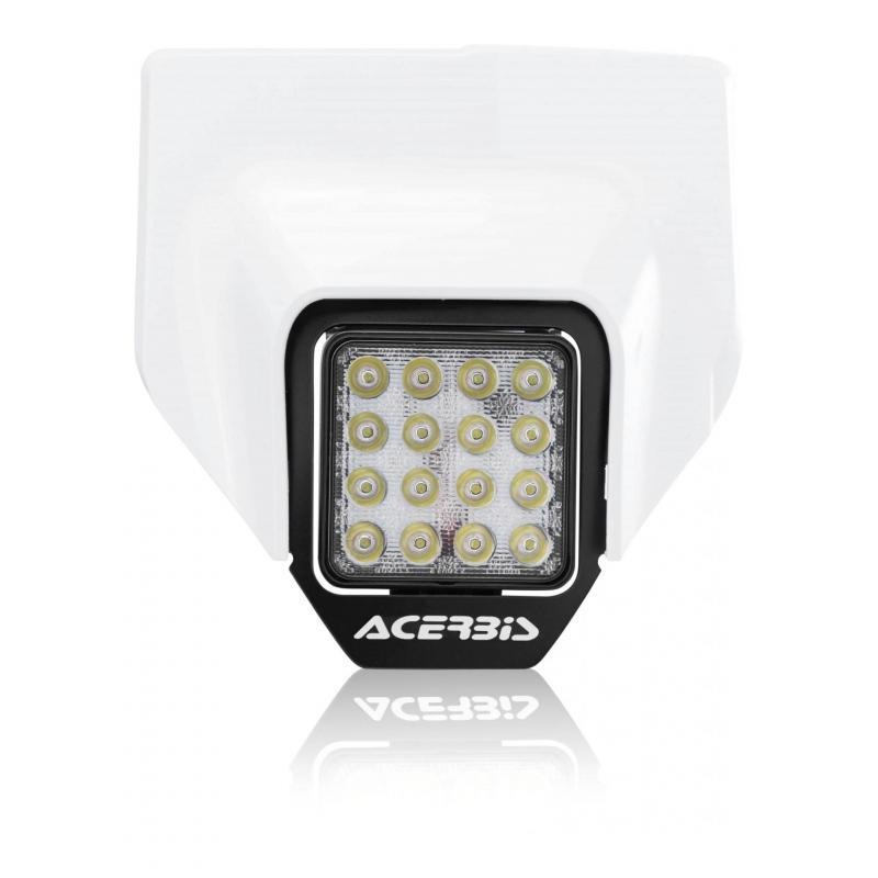 Plaque phare Acerbis VSL Husqvarna 250 FE 2020 blanc