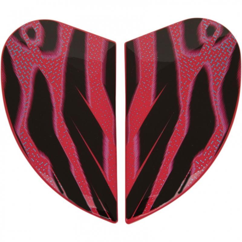 Plaques latérales Icon pour casque Airmada Wild Child violet
