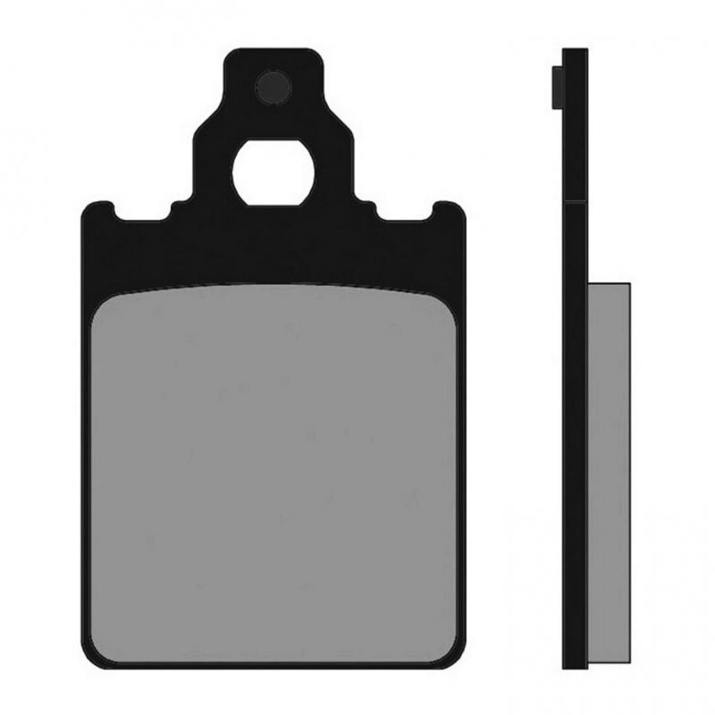 Plaquettes de frein Polini Original Quartz/Skipper/Vespa PX