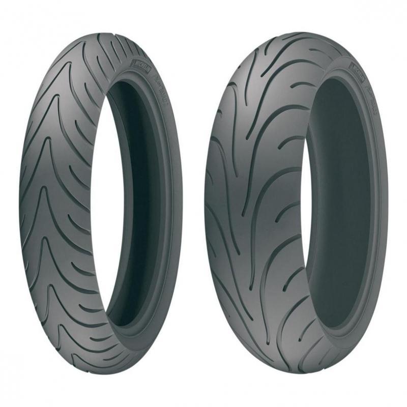 Pneu moto arrière Michelin Pilot Road 2 180/55 ZR 17 73W TL - 1