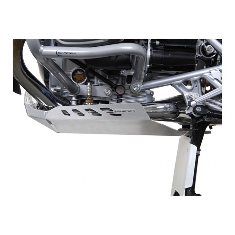 Sabot moteur SW-MOTECH gris BMW R 1200 GS 04-12 / Adventure 08- - 1
