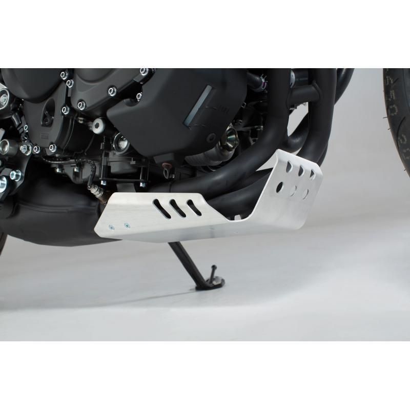 Sabot moteur SW-MOTECH gris Yamaha XSR 900 16- / MT-09 Tracer 14- - 1