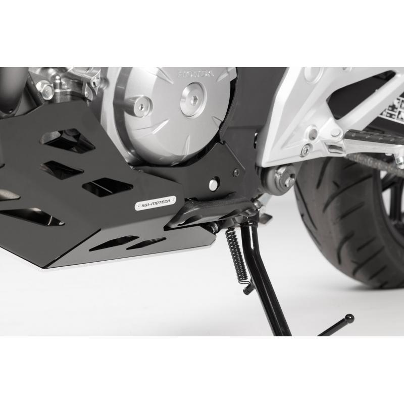 Sabot moteur SW-MOTECH noir / gris Honda NC700 / NC750 avec DCT - 3