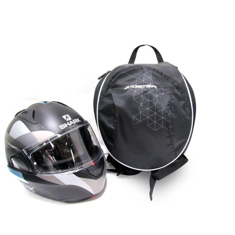 Sac de casque Bagster Pix Helmet noir/blanc - 1